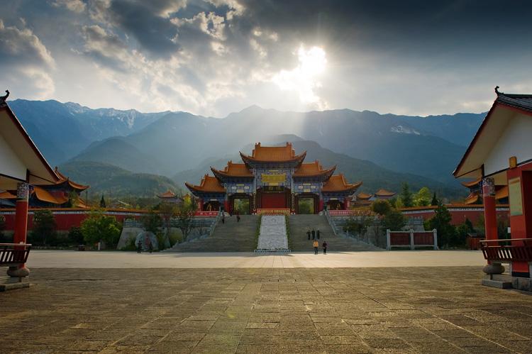Les Trois Pagodas et Le Monastète de Chongsheng à Dali-44