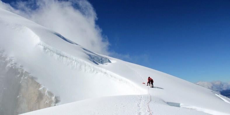 La Montagne Enneigée de Haba