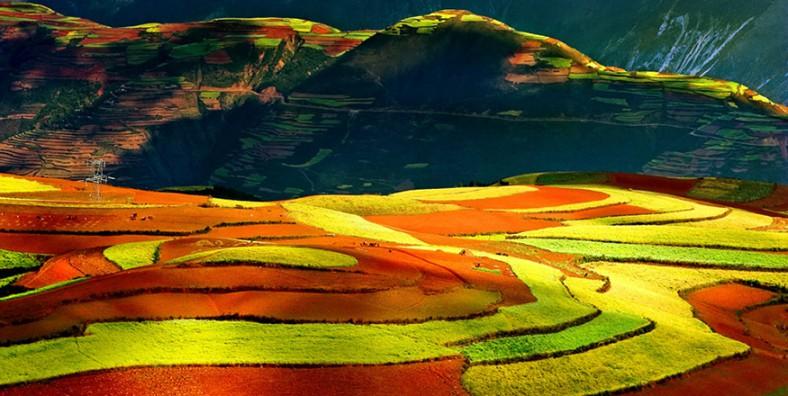 3 Jours de voyages au Terres Rouges de Dongchuan