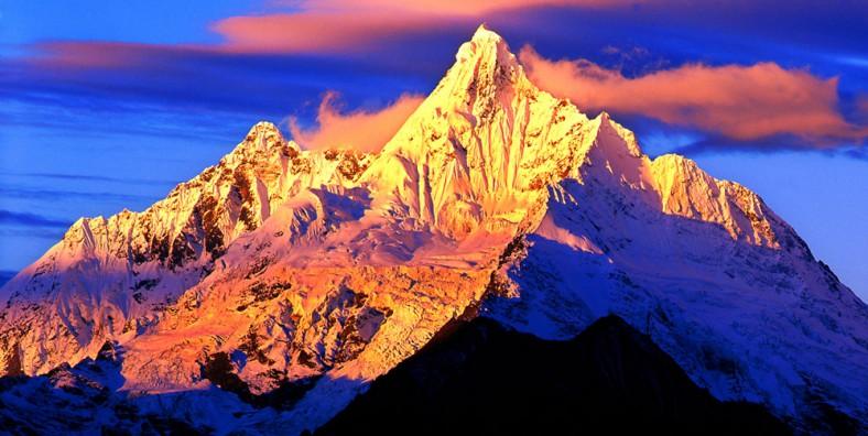 La Montagne enneigée de Meili